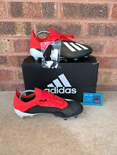 ADIDAS X 18.1 SG FOOTBALL BOOTS - RED / BLACK / WHITE - SIZE UK 7.5 - BNIB