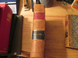 1885 U.S. GRANT .. Personal Memoirs   FIRST EDITION.... FULL LEATHER Volume One