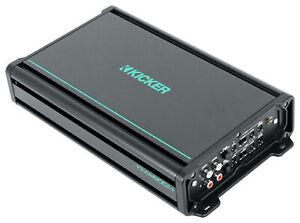 KICKER 48KMA6004 600 Watt 4-Channel Marine Amplifier Boat Amp KMA600.4