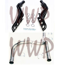 Long Tube Exhaust Header System& Y-Pipe Kit 04-08 Ford F150 4.6L Truck, 4WD Only