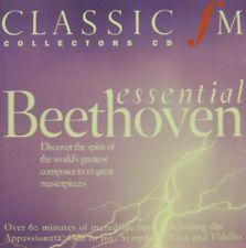 ESSENTIAL BEETHOVEN – CLASSIC FM CD (2003)  HARNONCOURT BARENBOIM  GIULINI MUTI