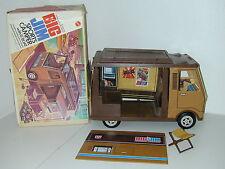 Big Jim 1971 Mattel Doll Camper Vintage With Box Jim Jack Figures Not Included