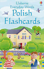 Everyday Words in Polish Flashcards by Kirsteen Rogers (Novelty book, 2009)