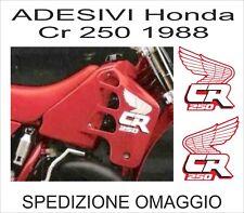 kit Adesivi in kristal HONDA CR 250 1988 replica originali
