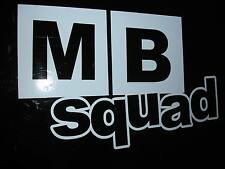 MB Squad Sticker Decal Civic MB2 MB3 MB6 JDM