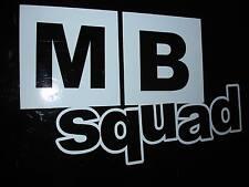 MB Squad Sticker Decal Civic MB2 MB3 MB6 JDM
