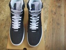 New Men's Levi's Jeffrey Hi 501 Core High-Top Sneakers Black - White Size 8.5