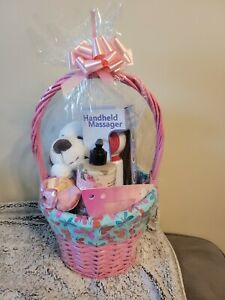 Mother's Day Love & Beauty Gift Basket Shrink Wrapped