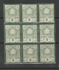 Middle East Block of 9 Forgery