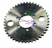 44 Tooth 6-Bolt 37mm ID Sprocket (use T8F 8mm chain) for stand-up Gas Scooter