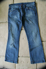 bonito jeans destruir bootcut DIESEL modelo nadar TALLA W29 L30 (38-40)