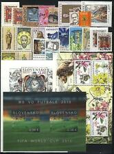 Slovakia 2010 Complete Year set. All stamps are MNH