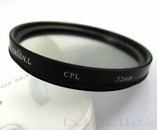 52mm CPL Circular Polarizing lens Filter for nikon D3200 D3100 D5100 D5200 18-55