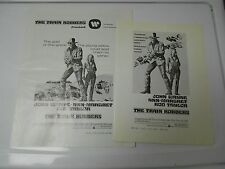 1973 THE TRAIN ROBBERS Press Book Kit JOHN WAYNE Ann Margeret FN+
