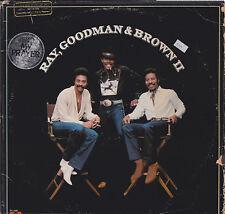 33 giri RAY, GOODMAN & BROWN II (USA 1980 POLYDOR PD-1-6299)