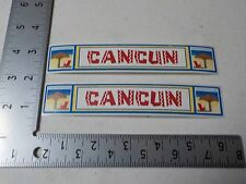 SRM CANCUN MEXICO TRAVEL VACATION STICKERS SCRAPBOOKING NEW A3438