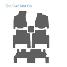 Fully Tailored Grey Carpet Car Mats For Chrysler Grand Voyager 2008 to 2015