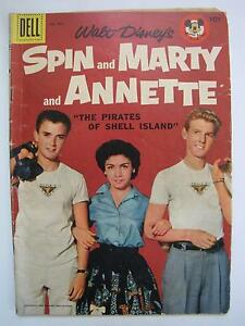 Walt Disney's Spin & Marty & Annette (Four Color #826, Sep 1957, Dell) [VG+4.5]