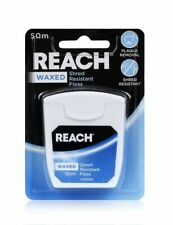 1x, 3x or 6x Reach Waxed Floss Shred Resistant 50m. Bulk Bulk & Save! From $10ea