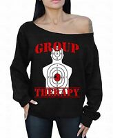 Group Therapy Off The Shoulder Oversized Slouchy Sweater Sweatshirt