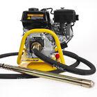 6.5HP Gas-Powered Concrete Vibrator 1.5 inch x 18' ft w/ Flexible Vibrate Poker