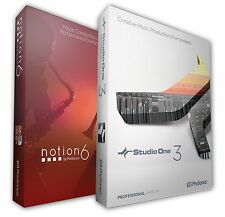 PreSonus Studio One Professional Version 3.5 & Notion 6 Combo Pack DOWNLOAD