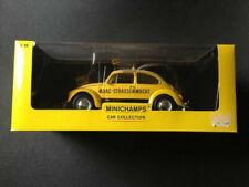VW Käfer 1300 1969 Beetle ADAC 150058195 Minichamps gebraucht in OVP 1:18