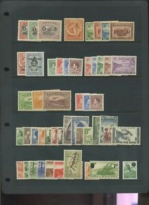 Papua & New guinea mid period MH collection