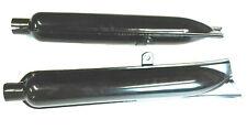 Auspufftöpfe Schwarz Auspuff f. BMW R51 R61 R71 R66 R51/2 M72 Ural