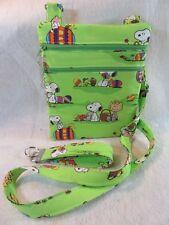 Peanuts Easter Theme Fabric Crossbody Bag w/adj strap- Free Shipping