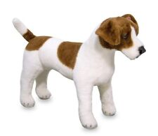Melissa & Doug Jack Russell Terrier Plush Large Soft Toy 14867