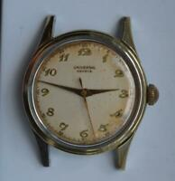 1950 Universal Geneve Wristwatch Cal. 267 gold cap manual wind ref. 20516 Swiss