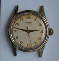 1950 Universal Geneve Wristwatch Cal. 267 gold cap manual wind ref. 20516 Swiss