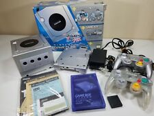 Rare Game Cube / Game Boy Advance Bundle with Clear Controller Japan