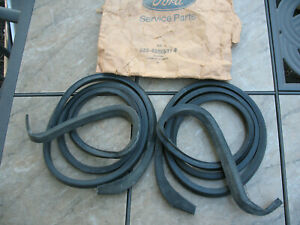 1955 1956 1957 Ford Thunderbird NOS door weatherstrips With packaging Box  2700