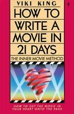 How to Write a Movie in 21 Days by Viki King (1993, Paperback)