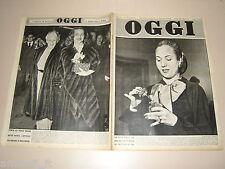 OGGI=1951/11=EVITA PERON=DINA GALLI=GIUSEPPE VERDI=LEONOR FINI=FIORINO SOLDI=