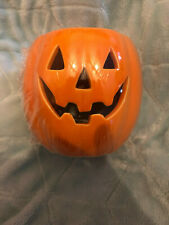 Wickford Pumpkin Halloween Ceramic wax burner with Haunted House Wax Melt
