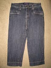 Not Your Daughter's Jeans NYDJ Capri Crop Trouser Style Stretch Denim Women Sz 6