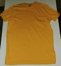 Hollister California Men's Super Soft Unprinted T-Shirt New L Yellow