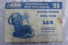 KTM 620 LC4 Pièces Moteur Katalog Catalogue de pièces de rechange Spare Parts