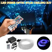 LED Fiber Optic Star Light Ceiling Kit Roof Light 335 strands 4m 16W RGBW Engine
