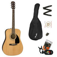 Fender FA 115 Chitarra acustica completa di Borsa Tracolla Corde Lezioni