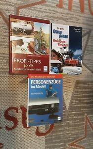 Transpress Bücher Konvolut Die Modellbahn-Werkstatt