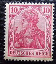 Deutsches Reich Mi 71 ** , Germania (II) , Qualitätsgrad II
