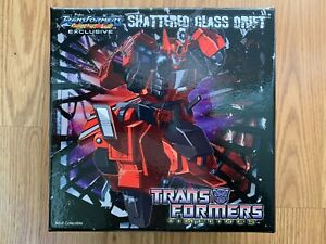 2012 Transformers Collectors Club Timelines TFCC Shattered Glass Drift NIB