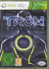 Tron: Evolution (Microsoft Xbox 360, 2011, DVD-Box)