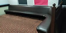 More details for booth fixed seating for home bar /pub/bar/restaurant/man cave £30 per meter