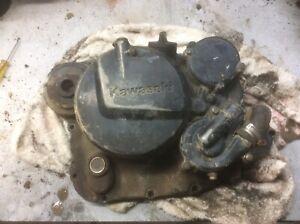 kawasaki 1984-2005 Kl250 Klr250 R/h Engine Cover Clutch Water Pump Oil Filter