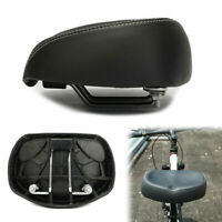 Comfort Wide Noseless Bike Saddle Seat Soft Cushion Pad Breathable Bicycle Seat